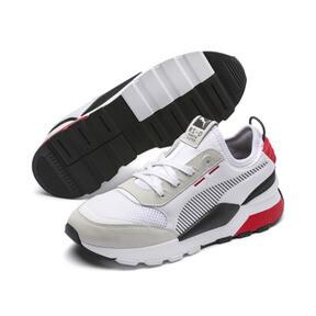 Thumbnail 4 of RS-0 Winter Inj Toys Sneaker, Puma White-High Risk Red, medium