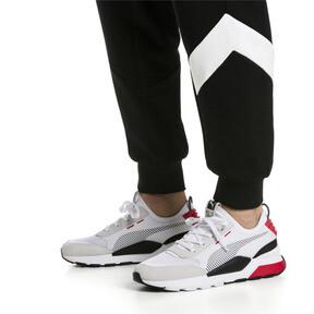 Thumbnail 2 of RS-0 Winter Inj Toys Sneaker, Puma White-High Risk Red, medium