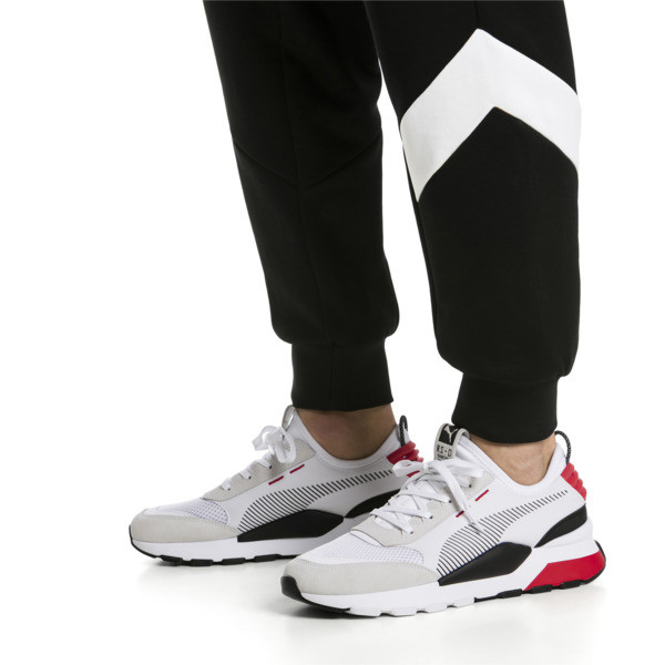 RS-0 Winter Inj Toys Trainers, Puma White-High Risk Red, large