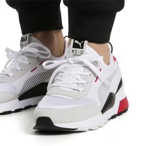 Thumbnail 3 of RS-0 Winter Inj Toys Sneaker, Puma White-High Risk Red, medium