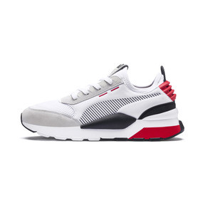 Thumbnail 1 of RS-0 Winter Inj Toys Trainers, Puma White-High Risk Red, medium