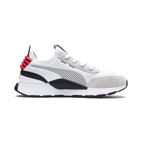 Thumbnail 7 of RS-0 Winter Inj Toys Trainers, Puma White-High Risk Red, medium