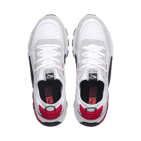 Thumbnail 8 of RS-0 Winter Inj Toys Trainers, Puma White-High Risk Red, medium