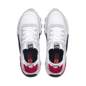 Thumbnail 8 of RS-0 Winter Inj Toys Sneaker, Puma White-High Risk Red, medium