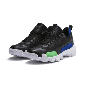 Thumbnail 3 of Trailfox Leather Sneakers, Puma Black-Irish Green, medium