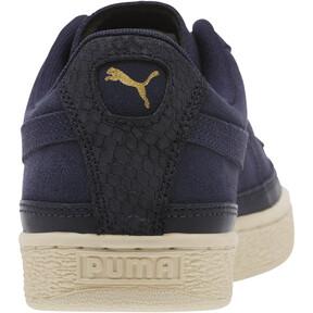 Thumbnail 4 of Suede Skate Premium Sneakers, Peacoat-Whisper White, medium