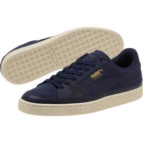 Thumbnail 2 of Suede Skate Premium Sneakers, Peacoat-Whisper White, medium