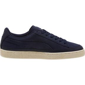 Thumbnail 3 of Suede Skate Premium Sneakers, Peacoat-Whisper White, medium