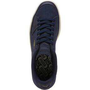 Thumbnail 5 of Suede Skate Premium Sneakers, Peacoat-Whisper White, medium