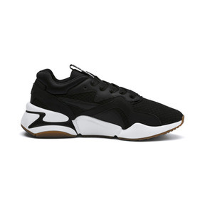 Thumbnail 6 of Nova '90s Bloc Women's Trainers, Puma Black-Puma Black, medium