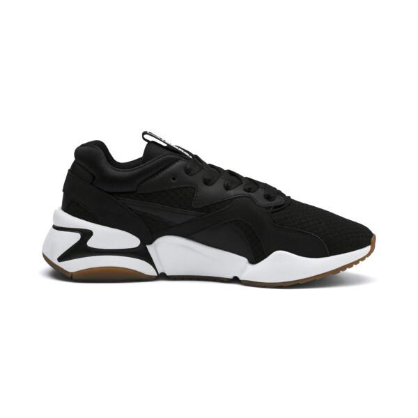Nova '90s Bloc Damen Sneaker, Puma Black-Puma Black, large
