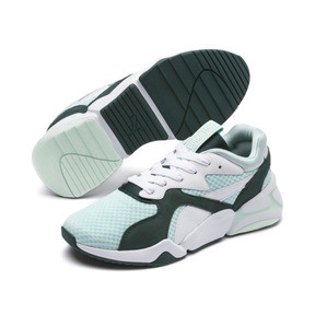 Thumbnail 3 of Nova '90s Bloc Damen Sneaker, Fair Aqua-Ponderosa Pine, medium