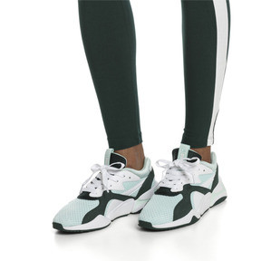 Thumbnail 2 of Nova '90s Bloc Damen Sneaker, Fair Aqua-Ponderosa Pine, medium