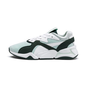 Thumbnail 1 of Nova '90s Bloc Women's Trainers, Fair Aqua-Ponderosa Pine, medium
