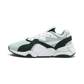 Thumbnail 1 of Nova '90s Bloc Women's Sneakers, Fair Aqua-Ponderosa Pine, medium