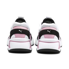 Thumbnail 4 of Nova '90s Bloc Women's Sneakers, Puma White-Pale Pink, medium