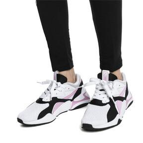 Thumbnail 7 of Nova '90s Bloc Women's Sneakers, Puma White-Pale Pink, medium