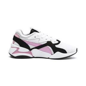Thumbnail 5 of Nova '90s Bloc Women's Trainers, Puma White-Pale Pink, medium