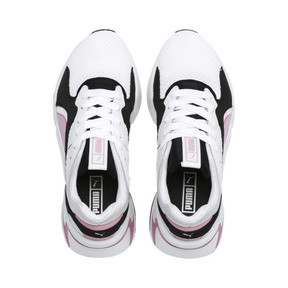 Thumbnail 6 of Nova '90s Bloc Women's Trainers, Puma White-Pale Pink, medium