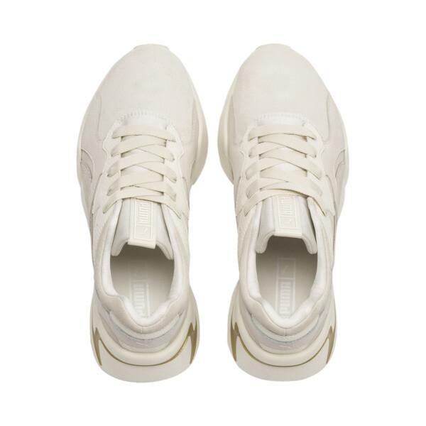 Nova Pastel Grunge Women's Trainers, Whisper White-Whisper White, large