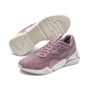 Thumbnail 3 of Nova Pastel Grunge Women's Trainers, Elderberry-Elderberry, medium