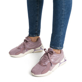 Thumbnail 2 of Nova Pastel Grunge Women's Trainers, Elderberry-Elderberry, medium
