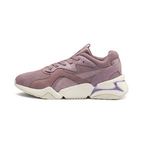 Thumbnail 1 of Nova Pastel Grunge Women's Trainers, Elderberry-Elderberry, medium