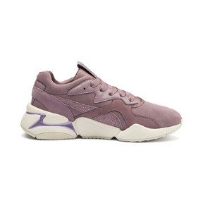 Thumbnail 6 of Nova Pastel Grunge Women's Trainers, Elderberry-Elderberry, medium
