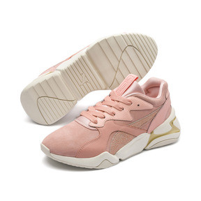 Thumbnail 3 of Nova Pastel Grunge Women's Trainers, Peach Bud-Peach Bud, medium