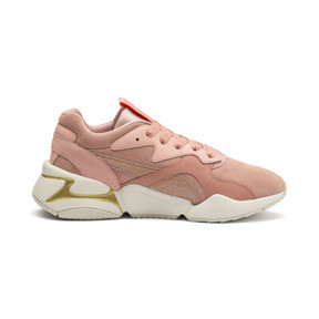 Thumbnail 6 of Nova Pastel Grunge Women's Trainers, Peach Bud-Peach Bud, medium