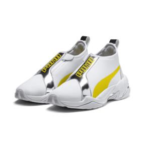 Thumbnail 3 of Basket Thunder Trailblazer Metallic pour femme, Puma White-Blazing Yellow, medium