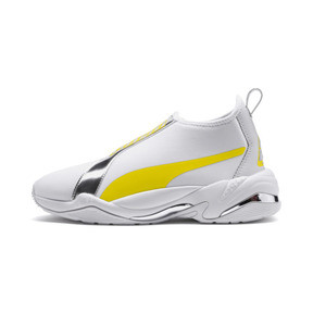 Thumbnail 1 of Thunder Trailblazer Metallic Women's Sneakers, Puma White-Blazing Yellow, medium