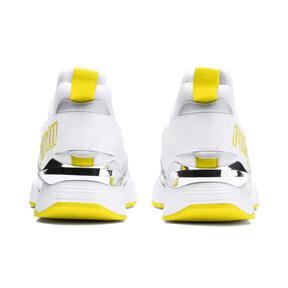 Thumbnail 4 of Muse Maia Trailblazer Metallic Women's Sneakers, Puma White-Blazing Yellow, medium