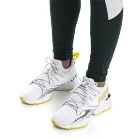 Thumbnail 2 of Muse Maia Trailblazer Metallic Women's Sneakers, Puma White-Blazing Yellow, medium