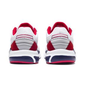 Thumbnail 4 of Future Runner Premium Sneakers, Puma White-Peacoat-Red, medium