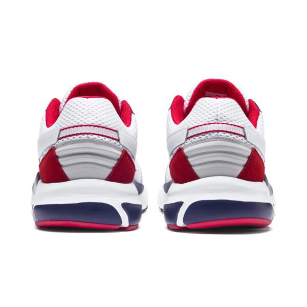 Future Runner Premium Sneakers, Puma White-Peacoat-Red, large