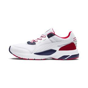 Thumbnail 1 of Future Runner Premium Sneakers, Puma White-Peacoat-Red, medium