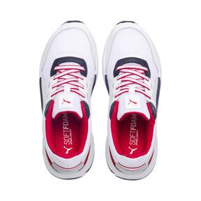 Thumbnail 6 of Future Runner Premium Sneakers, Puma White-Peacoat-Red, medium