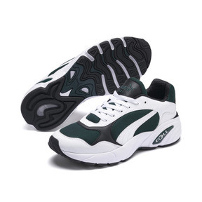 Thumbnail 2 of CELL Viper Trainers, Puma White-Ponderosa Pine, medium