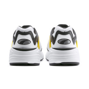Thumbnail 3 of CELL Viper Trainers, Puma White-Spectra Yellow, medium