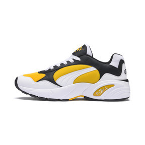 Thumbnail 1 of CELL Viper Trainers, Puma White-Spectra Yellow, medium