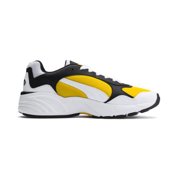 CELL Viper sneakers, Puma White-Spectra Yellow, large