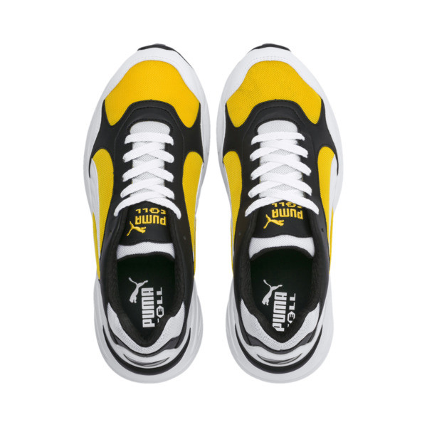 CELL Viper Trainers, Puma White-Spectra Yellow, large