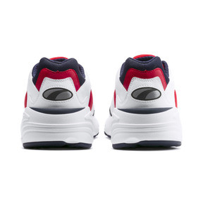 Thumbnail 3 of CELL Viper Trainers, Puma White-High Risk Red, medium