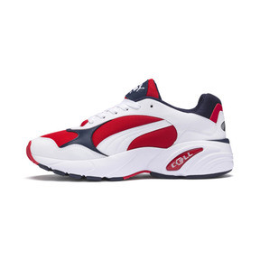 Thumbnail 1 of CELL Viper Trainers, Puma White-High Risk Red, medium