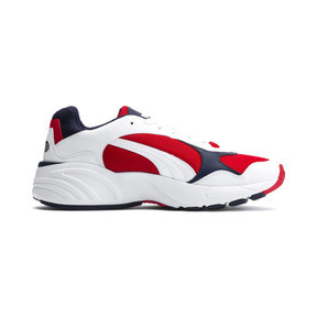 Thumbnail 5 of CELL Viper Trainers, Puma White-High Risk Red, medium