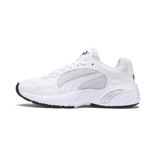 Basket Cell Viper, Puma White-Puma White, large