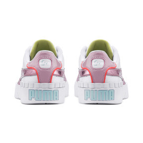Thumbnail 3 of PUMA x SOPHIA WEBSTER Cali Women's Sneakers, Puma White-Pale Pink, medium