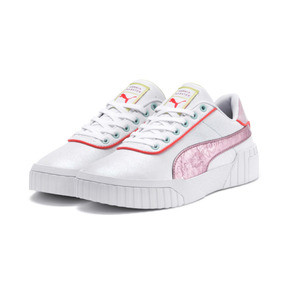 Thumbnail 2 of PUMA x SOPHIA WEBSTER Cali Women's Sneakers, Puma White-Pale Pink, medium