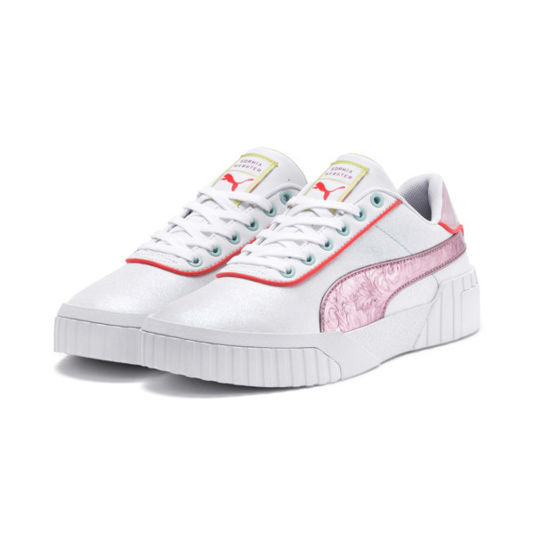 PUMA x SOPHIA WEBSTER Cali Women's Sneakers, Puma White-Pale Pink, large